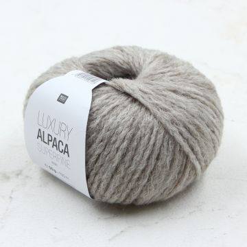 Rico Luxury Alpaca Superfine Aran (ecru 002)
